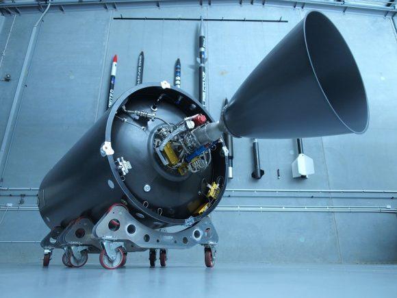 Segunda etapa del Electron (Rocket Labs).