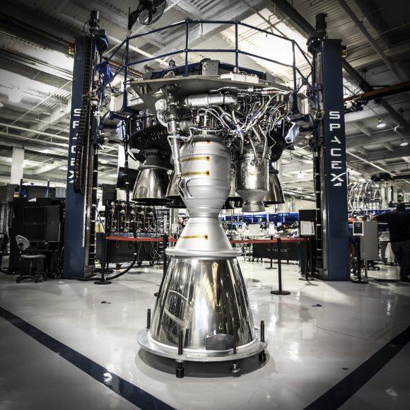 Motor Merlin 1D (SpaceX).