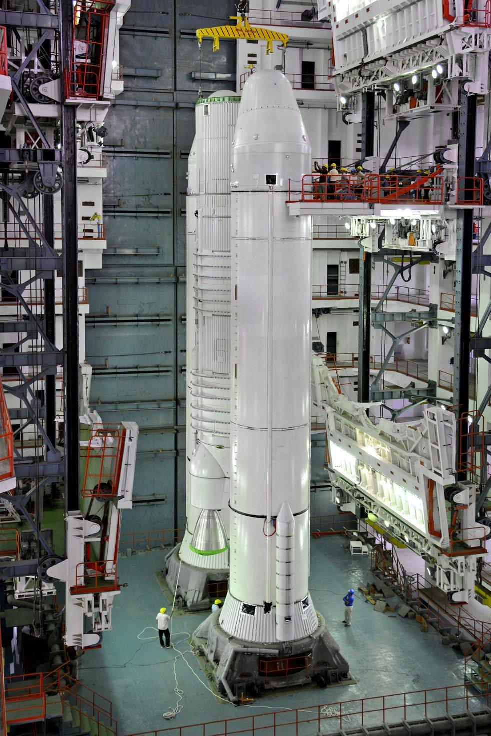 Puesto En Rbita El Gsat 19 Primer Lanzamiento Orbital -9723