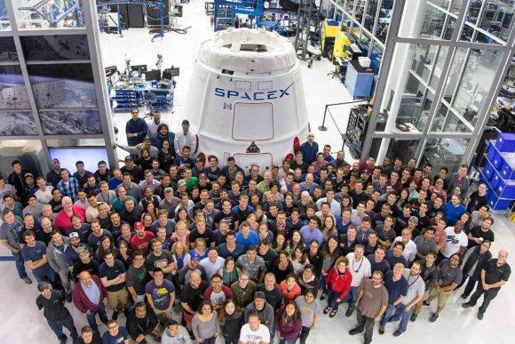 La CRS-11 antes de viajar al KSC (SpaceX).