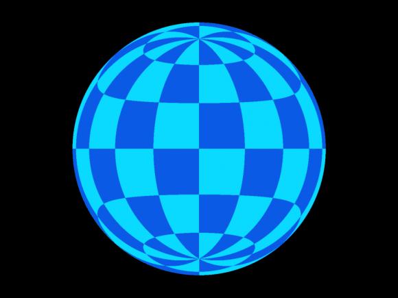 La distorsión del espacio tiempo de una estrella de neutrones nos puede permitir ver sus dos polos a la vez (Wikipedia).
