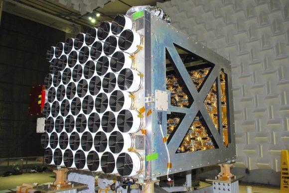 Detector de rayos X NICER (NASA).