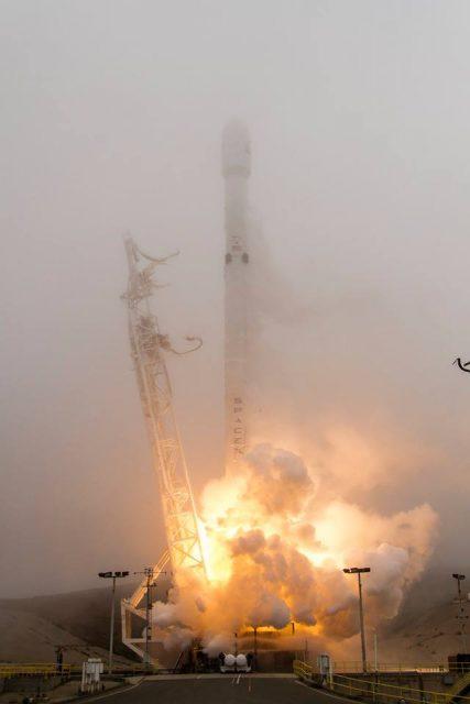 Lanzamiento de la misión Iridium NEXT 2 (SpaceX).