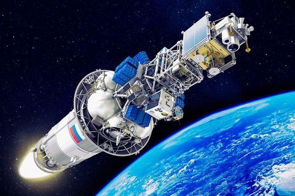 Configuración de lanzamiento de la carga útil (Roscosmos).