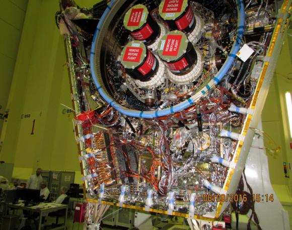 Los motores iónicos de MTM (ESA).