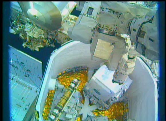 Extracción del experimento NICER (NASA).