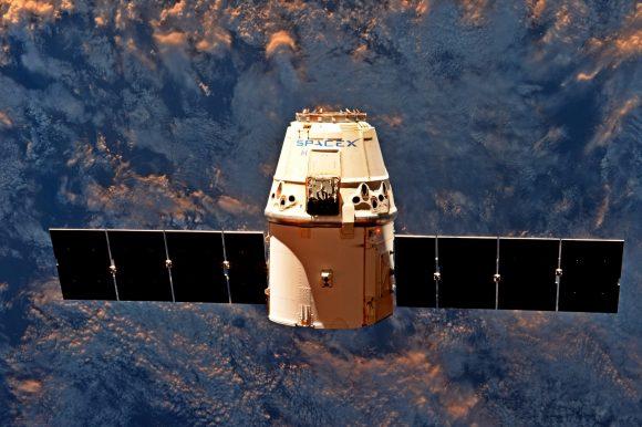 La CRS-11 de camino a casa (NASA).