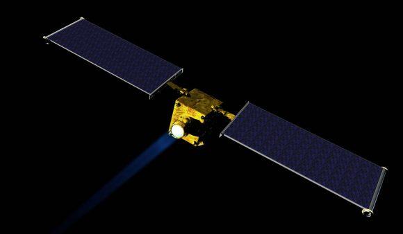 Misión DART de la NASA (NASA/JHUAPL).