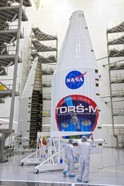TDRS-M Spacecraft Processing at Astrotech