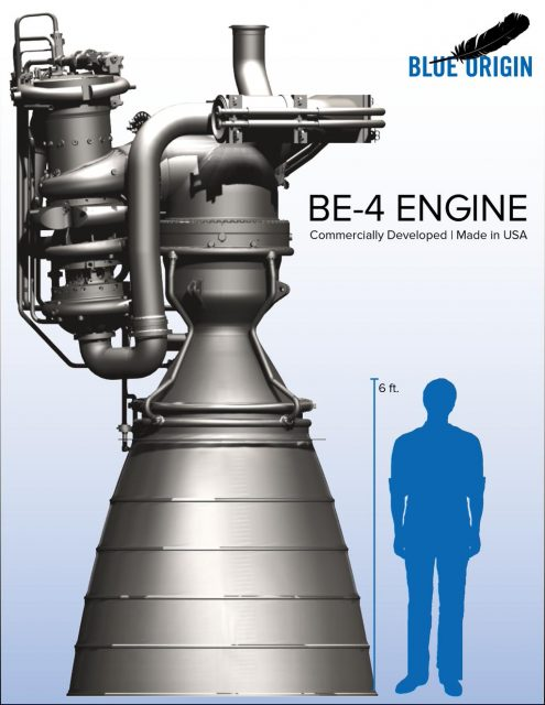 Motor BE-4 (Blue Origin).