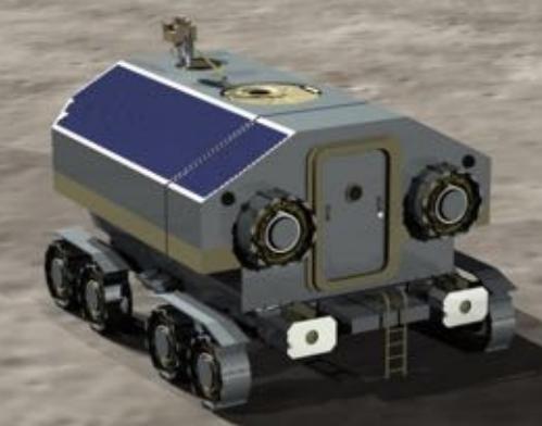 Propuesta de rover tripulado (ESA).