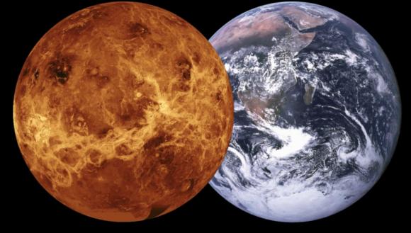 ¿Por qué son tan diferentes Venus y la TIerra? (NASA).