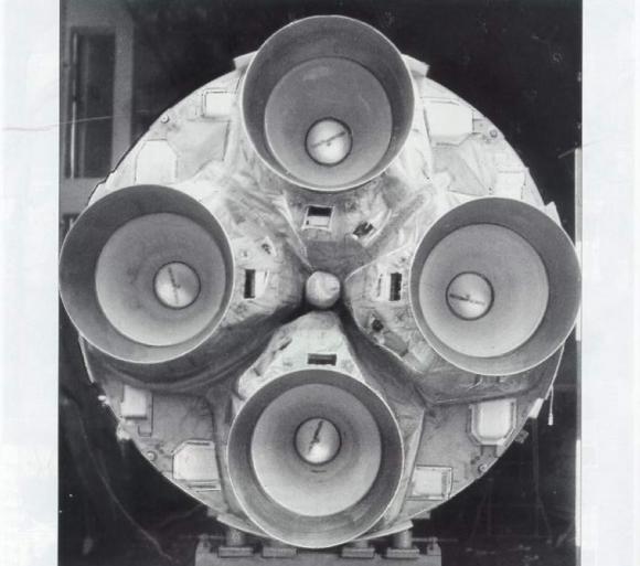 Motores de la primera etapa.