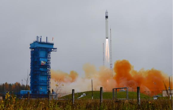 Lanzamiento del Sentinel 5P (ESA).