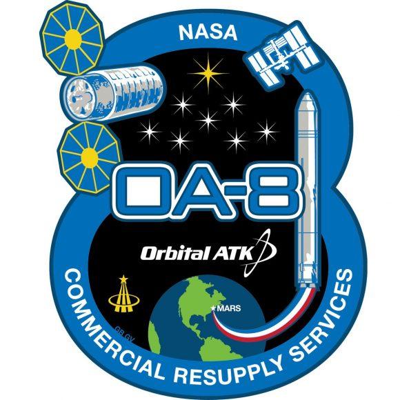 Emblema de la misión (Orbital ATK).