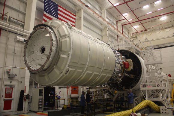 Cygnus OA-8 (Orbital ATK).