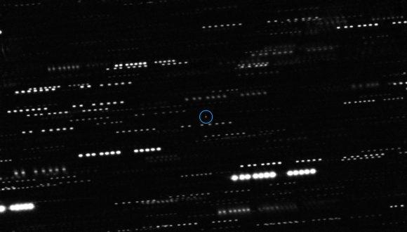 Así vio el potebnte telescopio VLT a 'Oumuamua (ESO/K. Meech et al.).