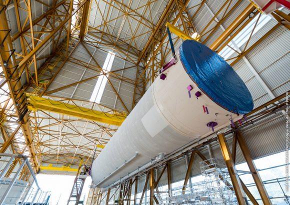 Etapa EPC de la misión VA240 (Arianespace).