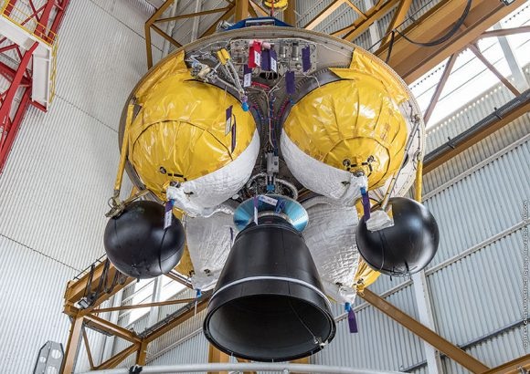 Segunda etapa EPS del Ariane 5 ES VA240 (Arianespace).