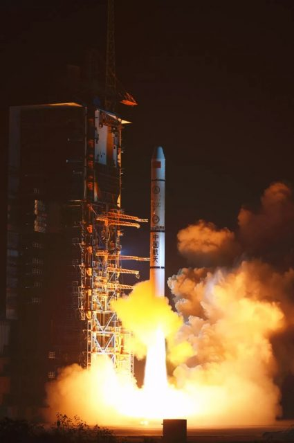 Lanzamiento del trío Yaogan 30-03 (Xinhua).