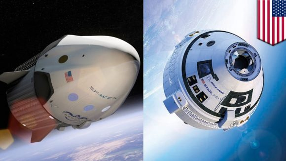 En 2018 veremos el debut de las naves CST-100 Starliner de Boeing y Dragon 2 de SpaceX (NASA).
