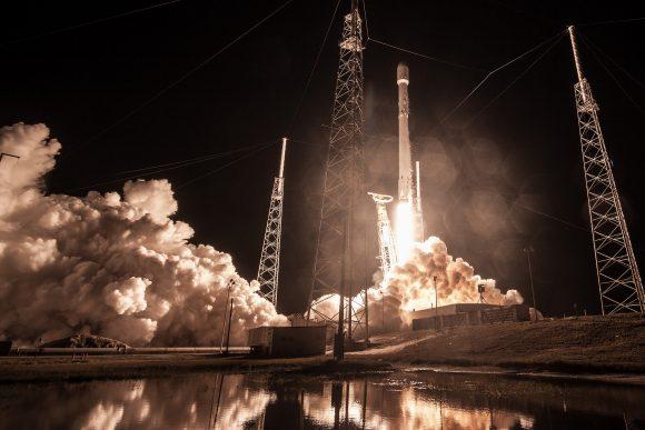 Lanzamiento de Zuma (SpaceX).