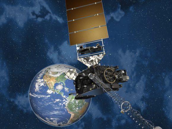 Satélite meteorológico estadounidense GOES S (NASA).