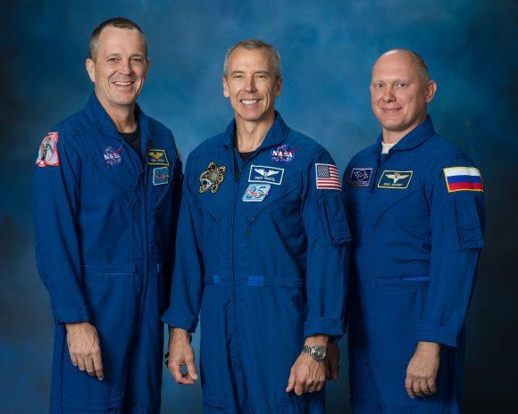 Tripulación de la Soyuz MS-08