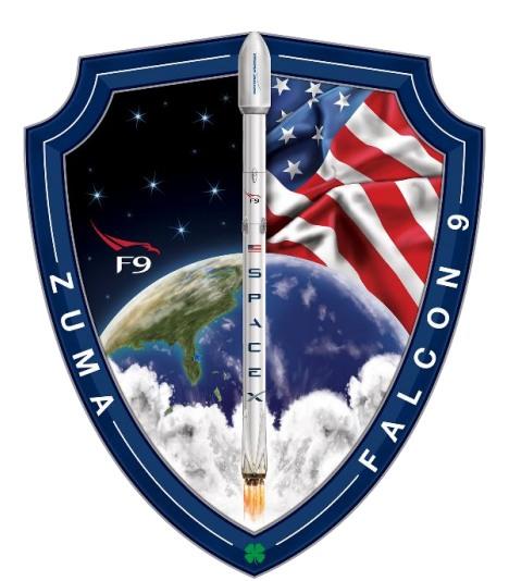 Emblema de la misión Zuma (SpaceX).
