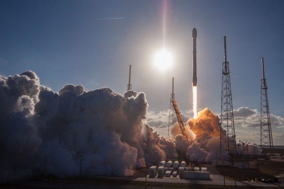 Lanzamiento del GovSat 1 (SpaceX).