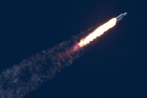 Despegue (SpaceX).