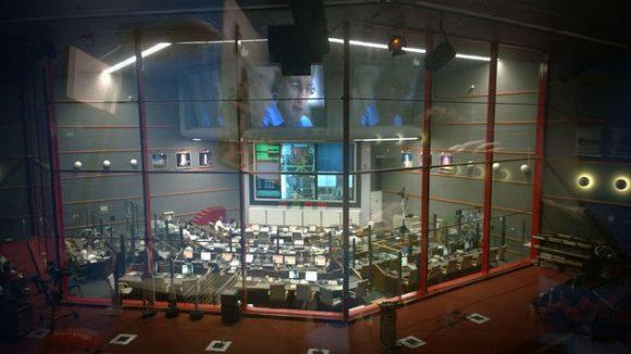 Centro de control Jupiter en Kourou (ESA).