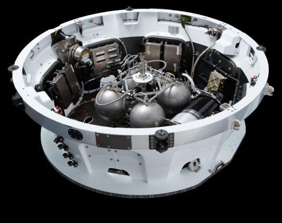 Tercera etapa del Electron (Rocket Lab).