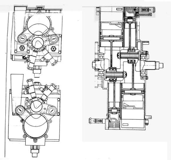 Detalle del motor de combustión interna del LIM (RKK Energía).