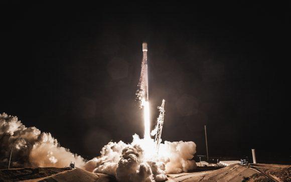 Lanzamiento de PAZ (SpaceX).