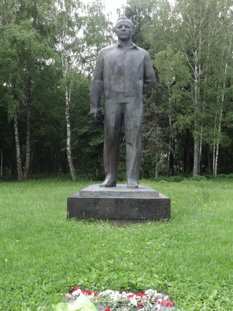 Monumento a Gagarin en la Ciudad de las Estrellas (Eureka).