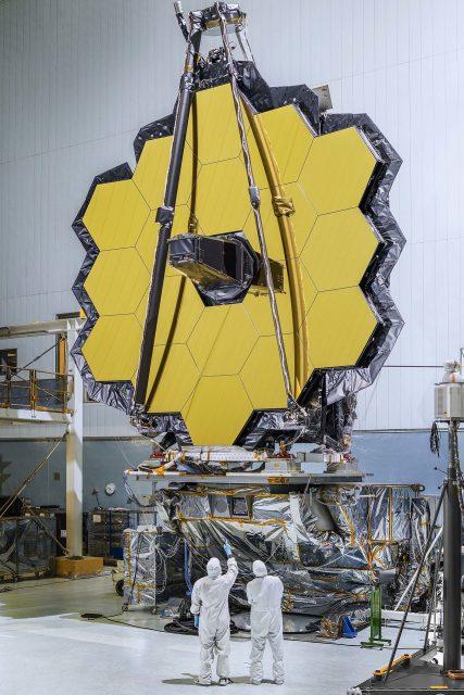 La óptica del JWST es impresionante (NASA).