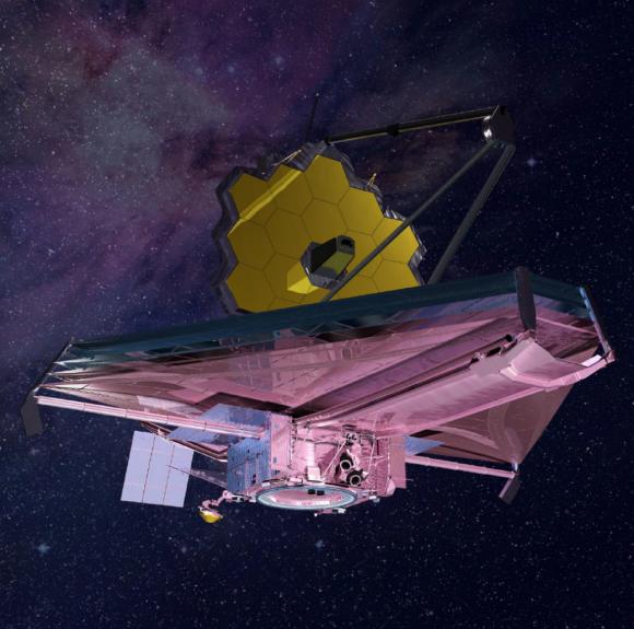 Telescopio espacial JWST (NASA).