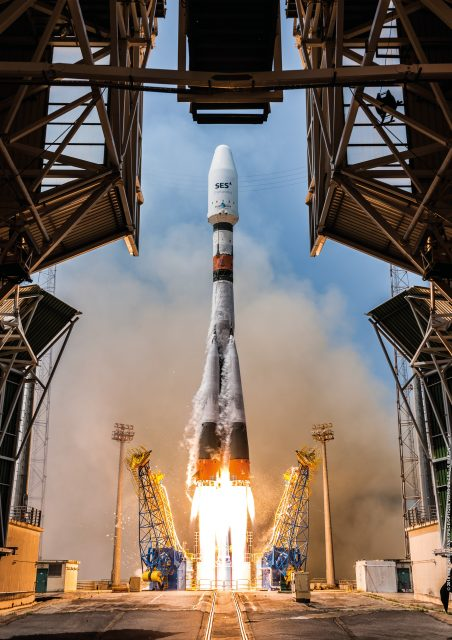 Lanzamiento de la VS18 (Arianespace).