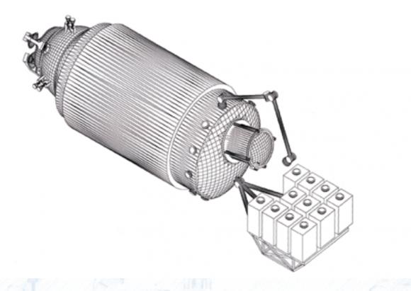 Módulo ucraniano para la ISS diseñado por RKK Energía en 1998 (RKK Energía).