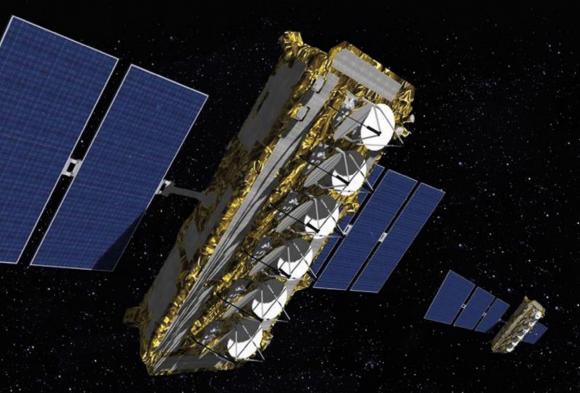 Satélite O3b (Arianespace).