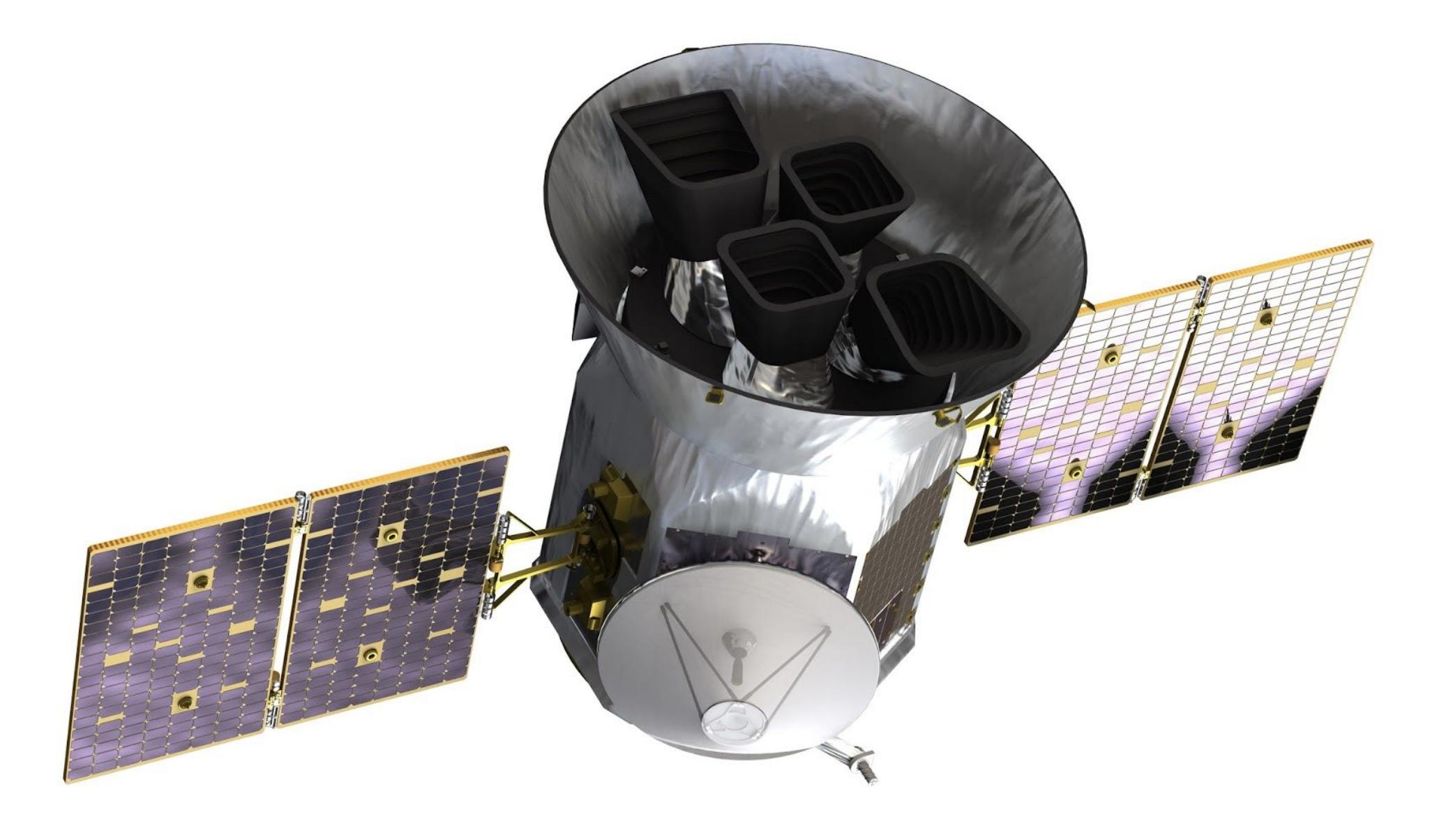 Vista del satélite TESS
