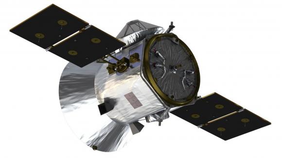 Detalle de la parte trasera de TESS (NASA).