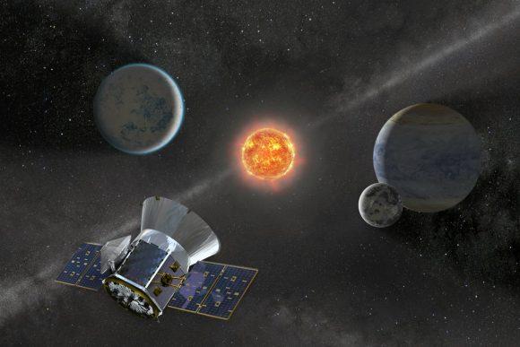 El descubridor de planetas TESS (NASA).