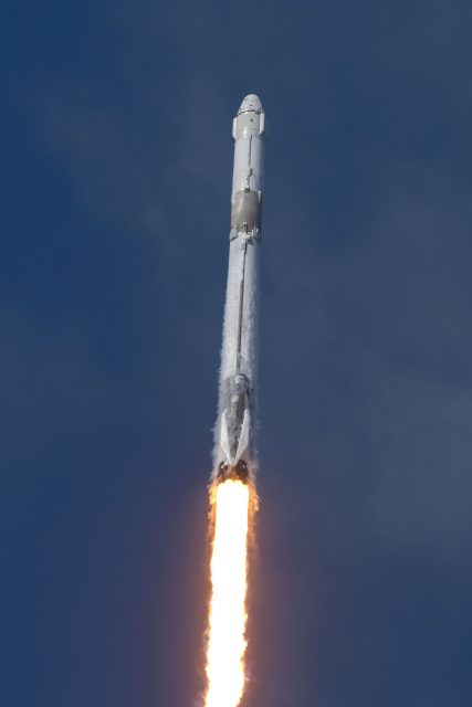 Lanzamiento de la Dragon SpX-14 (SpaceX).