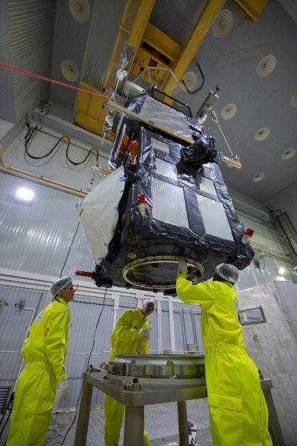 El Sentinel 3B en el MIK 101A de Plesetsk (ESA).