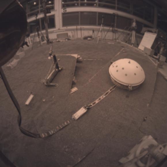 Vista de la cámara ICC (NASA).