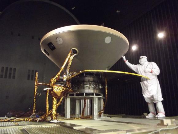 Pruebas térmicas de la nave (NASA).