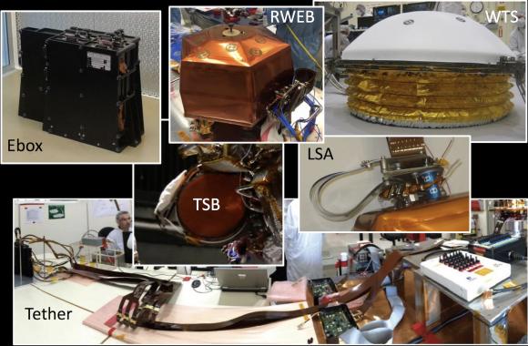 Elementos de SEIS (NASA).
