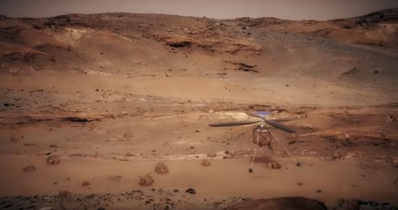 El rover 2020 llevará un helicóptero (NASA).